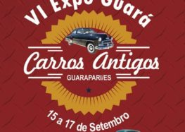 Exposição de carros antigos inicia as comemorações da Festa de Guarapari