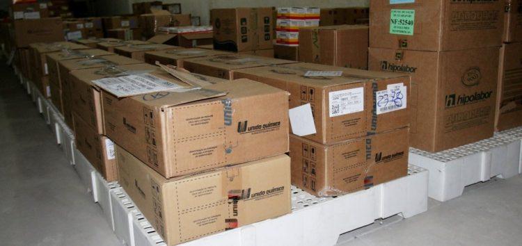 Novos remédios chegam para abastecimento de farmácia municipal em Guarapari