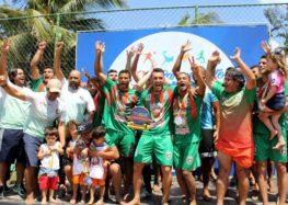 Anchieta bate Vitória e é tri do Estadual de Beach Soccer