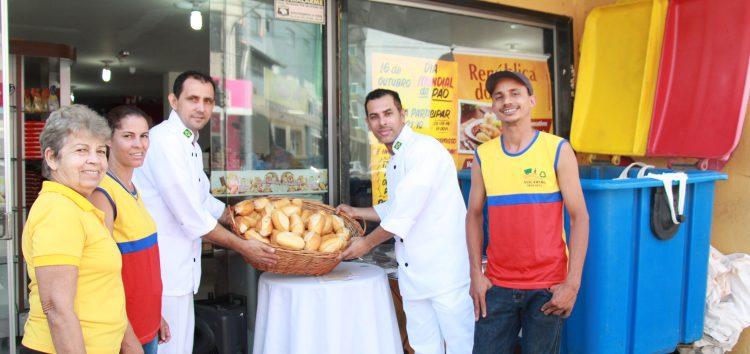 600 pães são trocados por garrafas pet em campanha sustentável