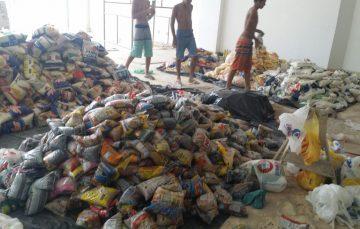 10 toneladas de alimentos são arrecadados em rave beneficente