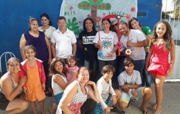 Comerciária desenvolve projeto social com crianças em Anchieta