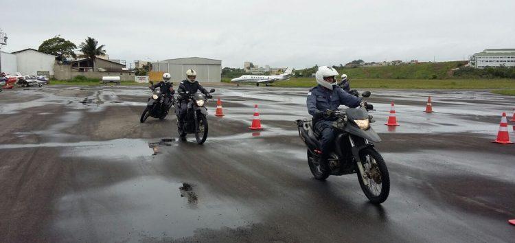Moto patrulhamento de Guarapari recebe qualificações e reforços