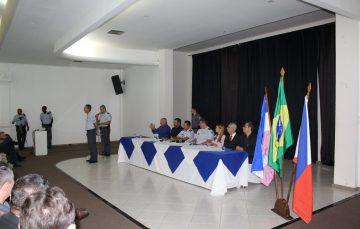 O 10º BPM de Guarapari homenageou os policiais que se destacaram durante o ano