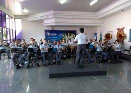 Banda da Polícia Militar se apresenta nesta terça-feira (12) no bairro Adalberto em Guarapari