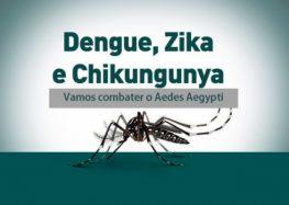 """Dia """"D"""" de Mobilização contra o Aedes aegypti acontecerá amanhã (14) em Guarapari"""