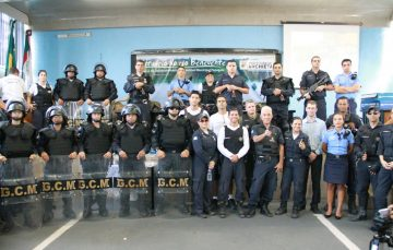 Guarda de Anchieta irá atuar nas ruas e praias com armas não letais