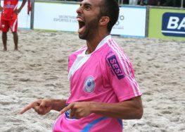 Anchieta recebe Melhor do Mundo no Beach Soccer para o 2º Jogo Solidário