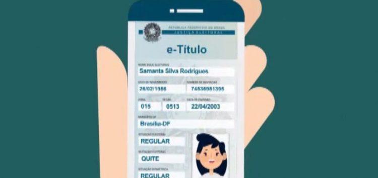 Documento virtual lançado pelo TSE pode substituir o título impresso na votação