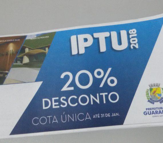 IPTU 2018: Anchieta e Guarapari com descontos de até 20%
