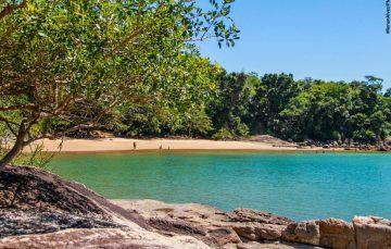 Praias paradisíacas em Anchieta