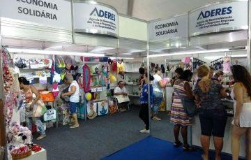 Aderes leva Economia Solidária para Feira de Artesanato de Guarapari