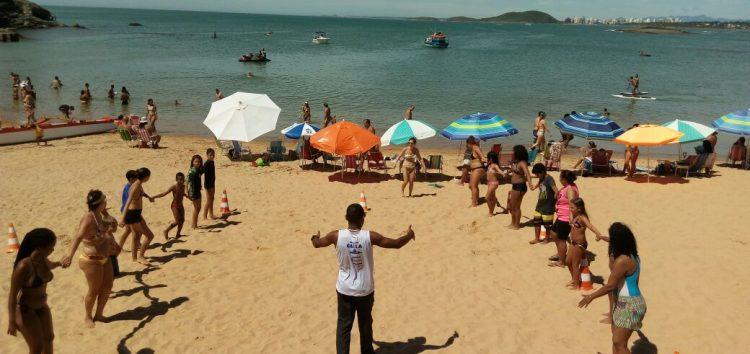 Projeto Praia Viva movimentou Setiba no último final de semana