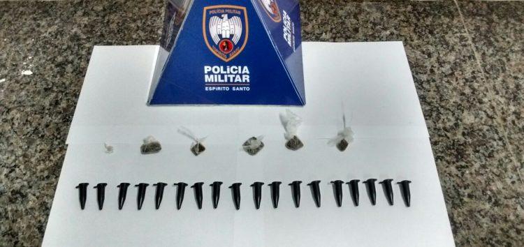 Mulher é detida com drogas em Guarapari