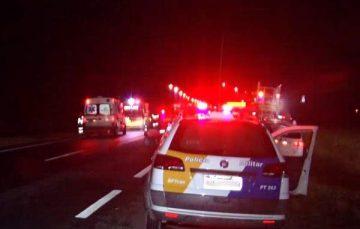 Acidente na Rodovia do Sol, em Guarapari , mata mulher atropelada