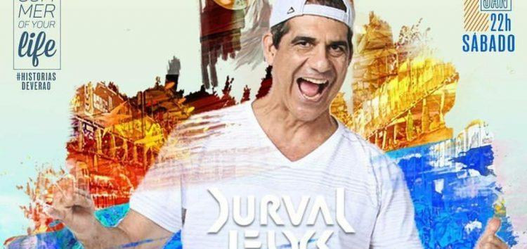 Axé de Durval Lelys encerra a temporada de shows do Verão 2018