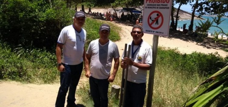Verão em Guarapari: Churrasco nas praias continua proibido
