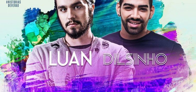 Luan Santana e Dilsinho misturam estilos musicais nesta sexta (26) em Guarapari