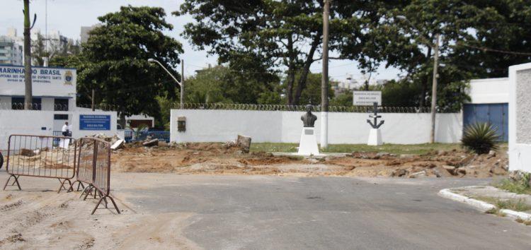 Marinha do Brasil se manifesta sobre a interrupção das obras da Prainha em Guarapari