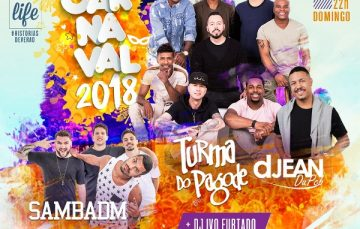 Tem pagode no Carnaval do Multiplace Mais