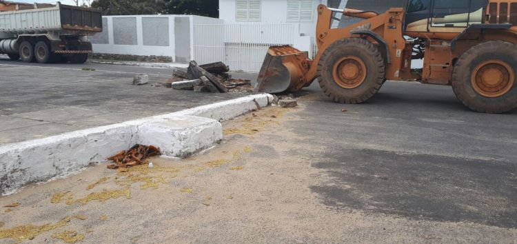 Prefeitura dá início às obras na Prainha de Muquiçaba