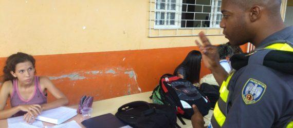 PM reinicia as atividades da Patrulha Escolar em Guarapari