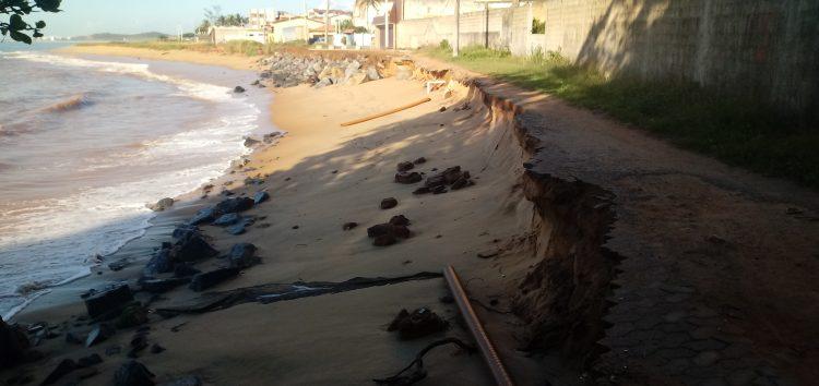 Praia do Riacho, Guarapari: A situação piora a cada dia