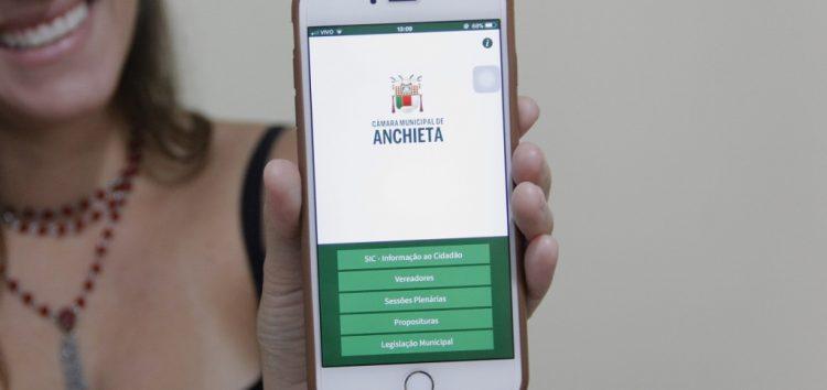 Câmara de Anchieta disponibiliza APP interativo