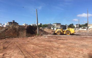Carone inicia as obras do superatacadoSempreTem em Guarapari