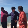 Prefeito anuncia obra rápida na Praia do Riacho em Guarapari