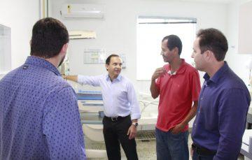 HFA recebe visita de vereadores das Comissões de Obras e Finanças