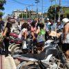 Estudante fica caída após colisão com carro em Guarapari