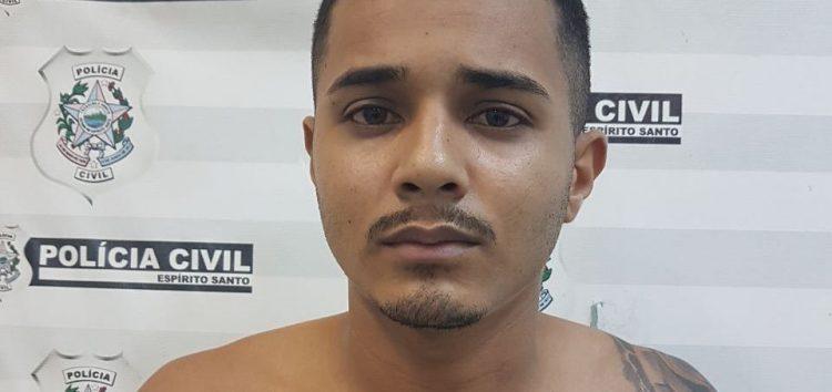 Suspeito de homicídio é preso no Camurugi, em Guarapari