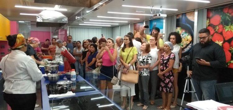 Chefs guaraparienses realizam aula show e comemoram sucesso do Cozinha Capixaba