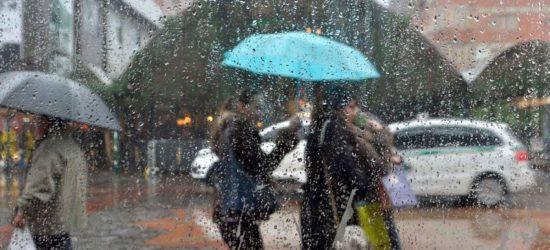 Chuva forte e tempestade de raios podem atingir Guarapari