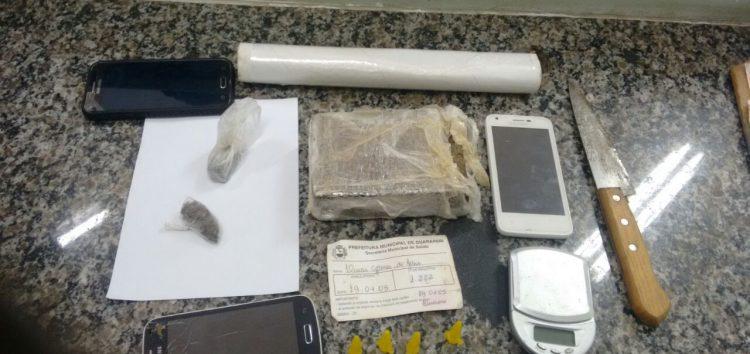 Adolescentes são apreendidos com drogas em bairros de Guarapari