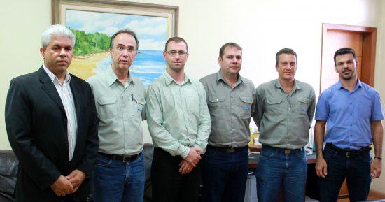 Diretor-presidente da Samarco realiza agendas com prefeitos de Anchieta e Guarapari