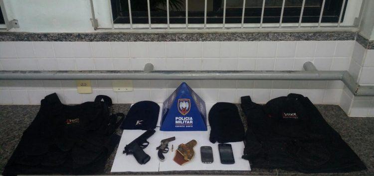 Assaltantes são presos em Guarapari