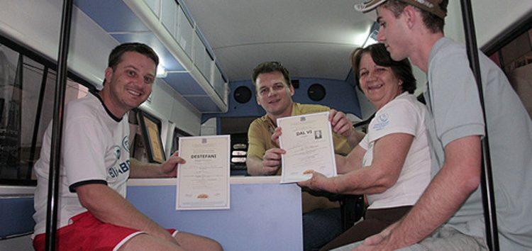 Registro dos imigrantes que chegaram ao ES disponível durante festa italiana em Guarapari