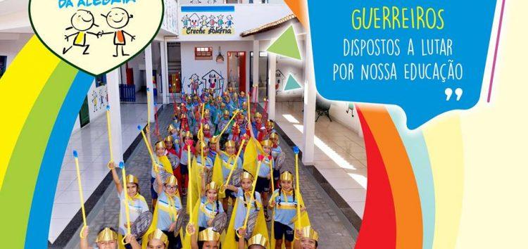 """Creche Alegria precisa de novos """"guerreiros"""" para continuar ajudando as crianças em Guarapari"""