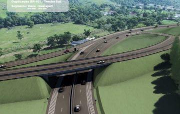 Trecho da BR 101 entre Viana e Guarapari começa a ser duplicado hoje (14)