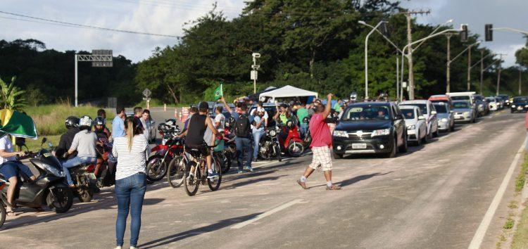 População mantém apoio à paralisação dos caminhoneiros em Guarapari