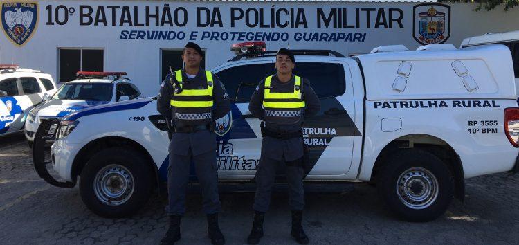 Comunidades do interior de Guarapari recebem novo veículo para patrulhamento