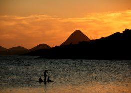 Está ruim? Muitos problemas? Solução: Vem pescar em Guarapari!