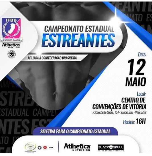 Fisiculturista de Alfredo Chaves irá disputar o Campeonato Estadual Estreantes 2018