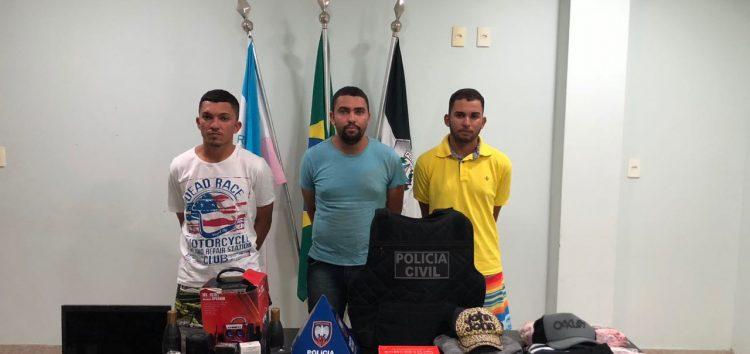 Operação das polícias civil e militar prende quadrilha acusada de roubos em Guarapari