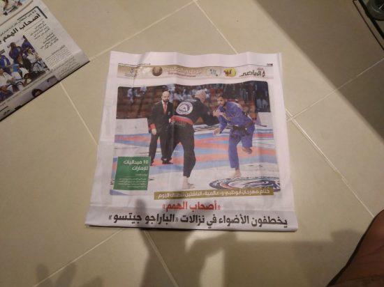 Guarapariense ganha 1º lugar absoluto no mundial de Jiu-Jitsu nos Emirados Árabes