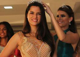 Em sua segunda participação no concurso, Sabrina Almeida foi coroada Miss Guarapari 2018