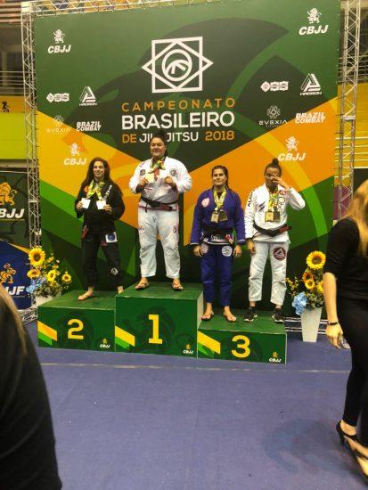 Competidores de Guarapari conquistam 8 medalhas no Brasileiro de Jiu-Jitsu