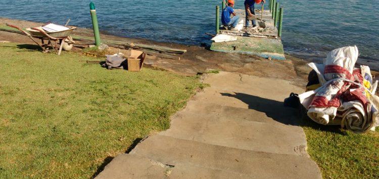 Píer no Morro da Pescaria deve ficar pronto em agosto deste ano, diz prefeitura